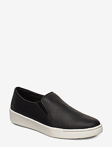 Teya Gore Slip On - slip-on sneakers - jet black