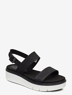 Safari Dawn 2 Band Sandal - flade sandaler - jet black