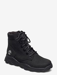 BROOKLYN SNKR BOOT BLK - boots - black