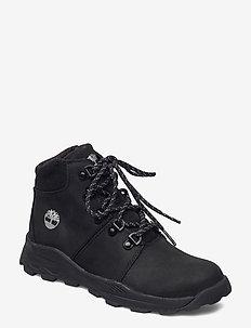 BROOKLYN HIKER BLK - vinterstövlar - black