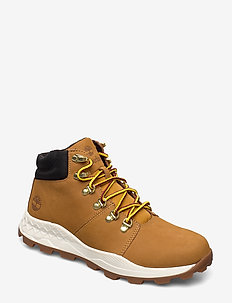 BROOKLYN HIKER WHT - sznurowane - wheat