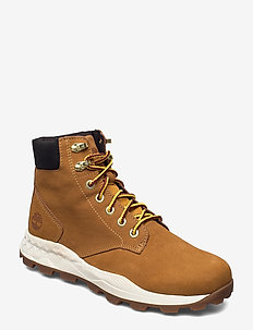 Brooklyn 6 inch Boot - nauhalliset - wheat