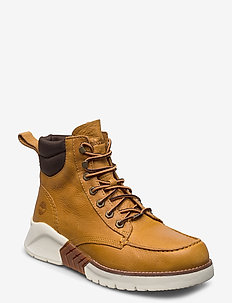 MTCR Moc Toe Boot - med snøring - spruce yellow