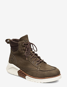 MTCR Moc Toe Boot - laced boots - canteen