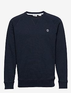 E-R Basic Regular Crew - basic sweatshirts - dark sapphire