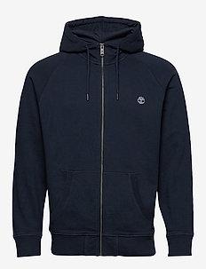 E-R Basic Reg Zip Thru - basic sweatshirts - dark sapphire