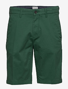 S-L Str Twll Chno Shrt - chinos shorts - hunter green