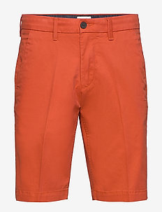 S-L Str Twll Chno Shrt - short chino - summer fig