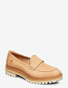London Square Slip On - TAN