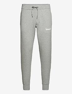 Estab 1973 Sweatpant MGH/WHITE - jogginghosen - med grey heather/white