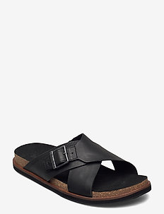 Amalfi Vibes Cross Slide - sandales - jet black