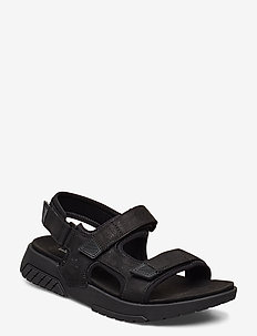 Anchor Watch Back Strap Sandal - sandales - jet black