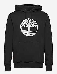 Core Logo P/O Hood Bb - hoodies - black/white