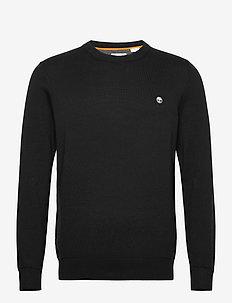 Williams River Crew - basic knitwear - black