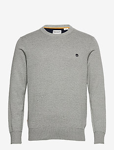 Williams River Crew - basisstrikkeplagg - medium grey heather