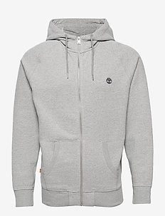 E-R Basic Reg Zip Thru - hettegensere - medium grey heather