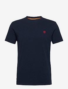SS Dun-River Crew T - basic t-shirts - dark sapphire