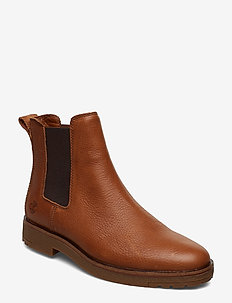 Folk Gentleman Chelsea - chelsea boots - saddle brown