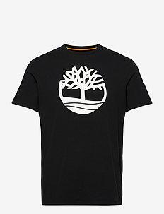 SS K-R Brand Tree T - chemises à manches courtes - black