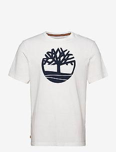 Kbec river tree tee - t-shirts à manches courtes - white
