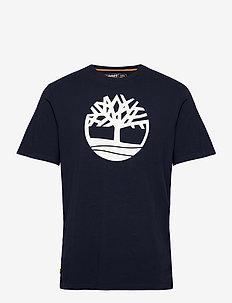 SS K-R Brand Tree T - chemises à manches courtes - dark sapphire