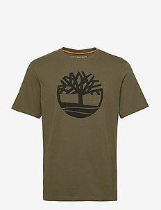 SS K-R Brand Tree T - short-sleeved t-shirts - grape leaf