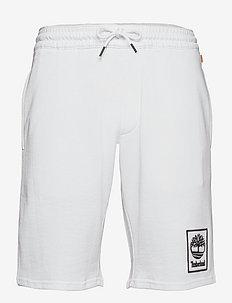 YC Summer Sweatshort - krótkie spodenki - white