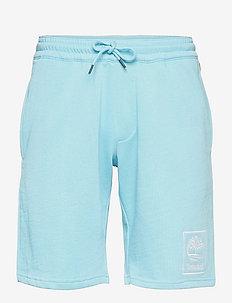 YC Summer Sweatshort - krótkie spodenki - blue topaz