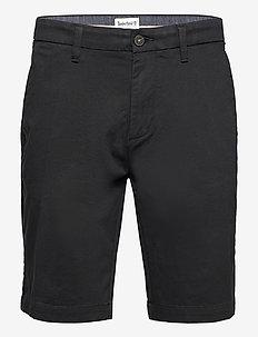 Straight Chino Short - chinos shorts - black