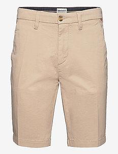 Straight Chino Short - chinos shorts - humus