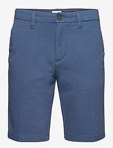 Straight Chino Short - chinos shorts - dark denim