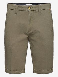 Straight Chino Short - chinos shorts - grape leaf