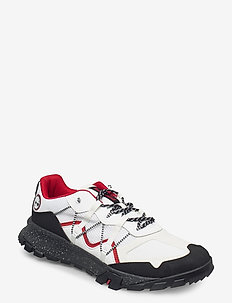 GARRISON TRAIL WHI - höga sneakers - bright white