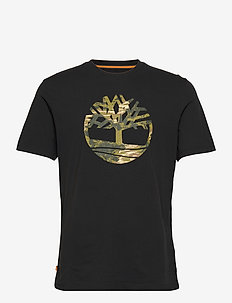 SS FT Tree Tee - t-shirts à manches courtes - black