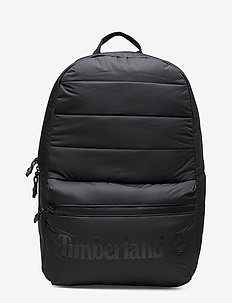 Zip Top Backpack - BLACK