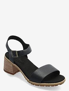 Laguna Shore Mid Heel Classic - sandalen met hak - jet black
