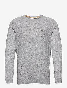 Cot Lin Interest Sweat - rund hals - medium grey heather