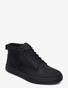 Davis Square WP WL Chukka - hoog sneakers - black