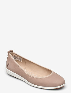 Bradstreet Ultra Ballerina Leather - ballerinas - taupe gray