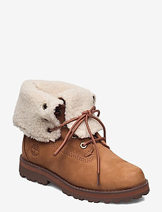 Courma Kid Shearling Roll Top - vinter boots - saddle
