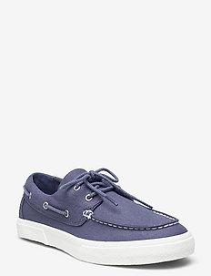 Union Wharf 2.0 EK+ 2 Eye Boat Ox - chaussures à lacets - vintage indigo