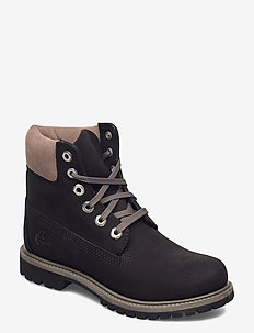 6in Premium WP Boot L/F- W - flat ankle boots - black