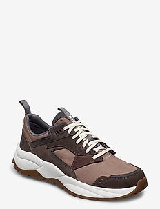 Tree Racer Leather Sneaker - laag sneakers - taupe gray