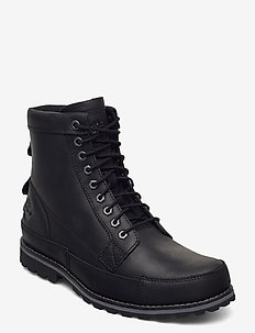 Originals II Leather 6 in Boot - laced boots - black