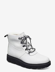 RAEWOOD ALPINE HKR WHI - flade ankelstøvler - white