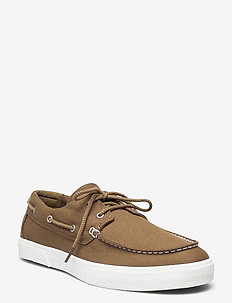 Union Wharf 2.0 EK+ 2 Eye Boat Ox - chaussures à lacets - olive canvas