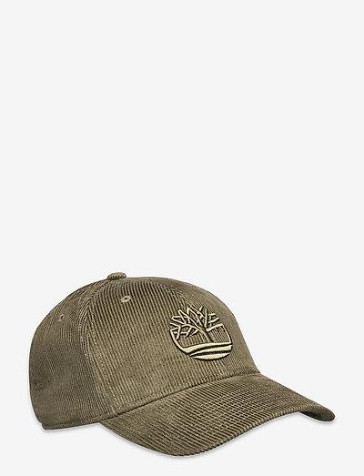 Corduroy Baseball Cap - kappen - grape leaf