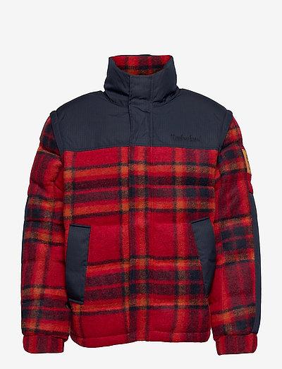 Welch Mountain Ultimated Puffer Jacket - donsjassen - dark sapphire-scarlet sage