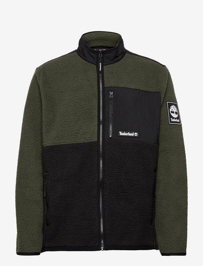 OA Sherpa Jacket - teddy-truien - duffel bag-black