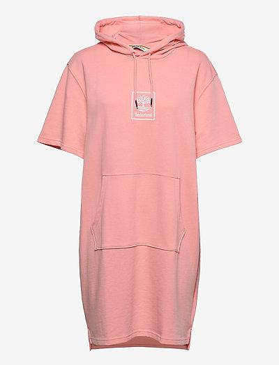 SS Hoodie Dress - t-shirt-kleider - hyper